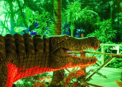 Crocodile préhistorique en Australie